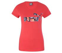 T-Shirt, reine Baumwolle, Logo-Print