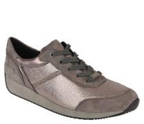 """Sneaker """"Lissabon"""", Veloursleder, Metallic-Effekt"""