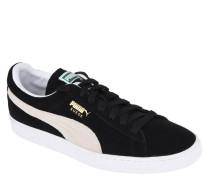 Sneaker, Leder, Logo-Print, Statement-Sohle