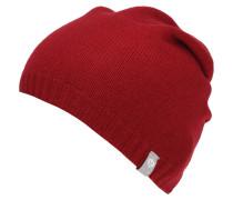 Mütze, Strick, reines Kaschmir, unifarben