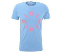 T-Shirt, Slim Fit, Baumwolle, Front-Print
