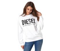 Sweatshirt, Logo-Print, Ripp-Abschlüsse