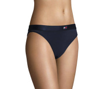 """Slip """"Brazilian"""", elastischer Bund, Logo-Detail, Jersey"""