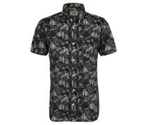 Freizeithemd, Regular Fit, floraler Allover-Print, Brusttasche