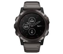 """Smartwatch """"fenix 5X Plus Sapphire DLC"""" 010-01989-05"""