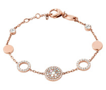 Armband Edelstahl rosevergoldet mit Perlmutt JF01739791