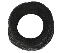 Loop-Schal, Strick, Woll-Anteil, innen Fleece