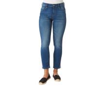 "Jeans ""Kate"", Slim Fit, Slim Leg, High Waist, Kontraststreifen"