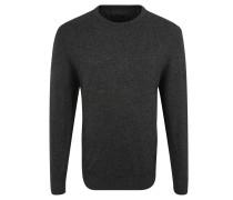 Pullover, Strick, Woll-Anteil, Feinrippabschlüsse