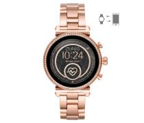 Touchscreen Smartwatch Damenuhr MKT5063