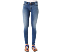 "Jeans ""Slandy"", Skinny Fit, Regular Waist, Waschungen"