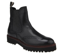 Chelsea Boots, Leder, Lyra-Lochung, Profilsohle