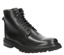 Boots, Leder, Schnürung, Profilsohle