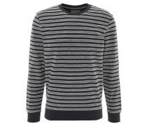 Sweatshirt, gestreift, seitliche Schlitze