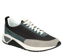 "Sneaker ""S-KB LOW LACE"", Leder-Mix, Logo-Print"