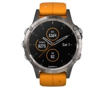 """Smartwatch """"fenix 5 Plus Sapphire"""" 010-01988-05"""