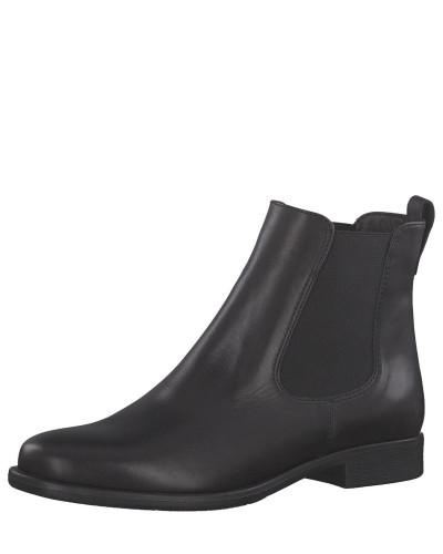 Chelsea Boots, Leder, uni, klassisch