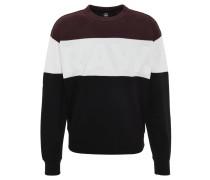 Sweatshirt, Logo-Print, Gummibund