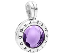 "Charm  ""Floating Locket"", lila 797662SAM"