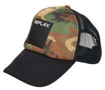 Cap, Trucker-Stil, Snapback, Camouflage