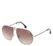 "Sonnenbrille ""2M2HA"", eckige Piloten-Form"