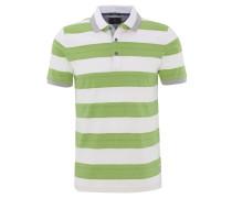 Poloshirt, Baumwolle, Streifen, Kontrastknöpfe