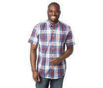 Hemd, Regular Fit, Button-Down-Kragen, Karo, Baumwolle