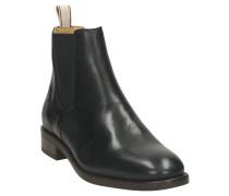 Chelsea Boots, Leder, Marken-Prägung, Zugschlaufe