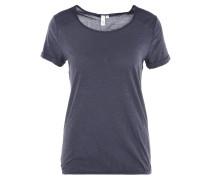 T-Shirt, uni, Gummibund, Baumwolle