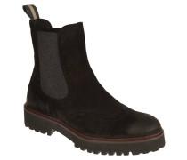 Chelsea Boots, Veloursleder, dezenter Used-Look