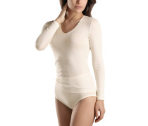 """Wäsche-Shirt """"Woolen Silk"""", V-Ausschnitt, Langarm"""