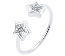Ring Sterne Swarovski® Kristalle 925 Sterling