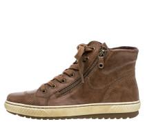 Sneaker, Leder, Reißverschluss