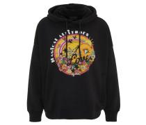 Sweatshirt, Print, Kängurutasche, Kapuze