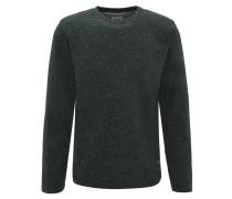 Sweatshirt, meliert, Rundhalsausschnitt