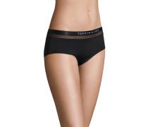 Panty, Logo-Bund, Mesh-Einsatz