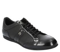 """Sneaker """"DUSTIN 14"""", geprägtes Leder, Logo-Emblem"""