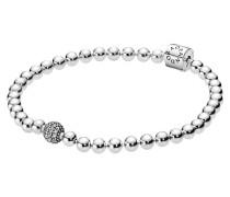 "Armband ""Beads & Pavé"" 925 Sterling"