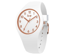White Roségold - Numbers - Extrasmall - 3H Damenuhr 015343