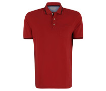 Poloshirt, Piqué, Kurzarm, Brusttasche, unifarben