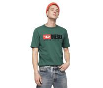 """T-Shirt """"JUST-DIVISION"""", Regular Fit, Kurze Ärmel"""