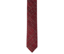 Krawatte, reine Seide, gemustert