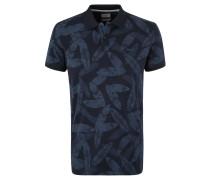 Poloshirt, Regular Fit, Tropical Print, Jersey