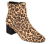 """Stiefeletten """"Olyvea"""", Leoparden-Muster, Fell-Besatz"""