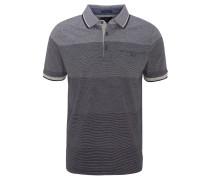 Poloshirt, gestreift, Brusttasche, weicher Griff