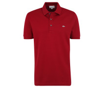 Poloshirt, Slim Fit, Piqué, Logo-Stickerei, unifarben