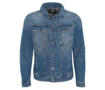 """Jeansjacke """"3301 Deconstructed"""", Slim Fit, Destroyed-Look"""