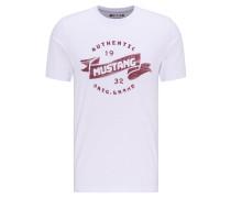 T-Shirt, Brustprint