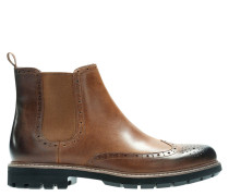 "Chelsea Boots ""Batcombe Top"", Leder, Brogue-Details"