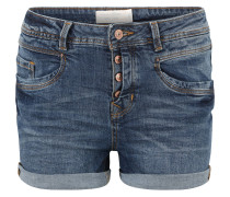 """Jeans-Shorts """"Cajsa"""", Used-Waschung"""
